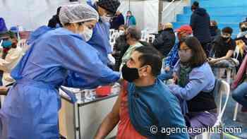 En la ciudad de San Luis se citaron a más de 2 mil personas para completar el esquema de la vacuna contra el Coronavirus - Agencia de Noticias San Luis