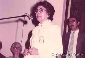 Homenaje a María Delia Gatica de Montiveros - Agencia de Noticias San Luis