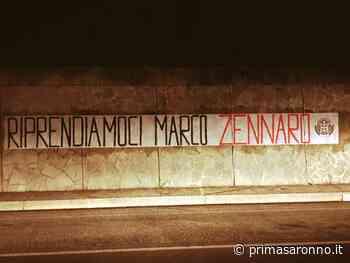 Cento striscioni di CasaPound per chiedere di liberare l'imprenditore Zennaro - Prima Saronno