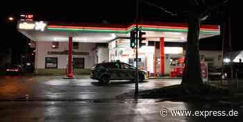 Tankstelle in Frechen: Räuber schlägt Mitarbeiter nieder - EXPRESS