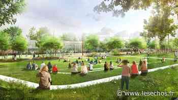 Seine-Saint-Denis : un nouveau poumon vert à Pantin - Les Échos
