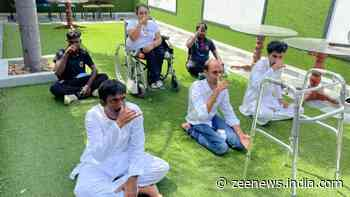 Anybody can Yoga – Differently abled persons take part in International Yoga Day event