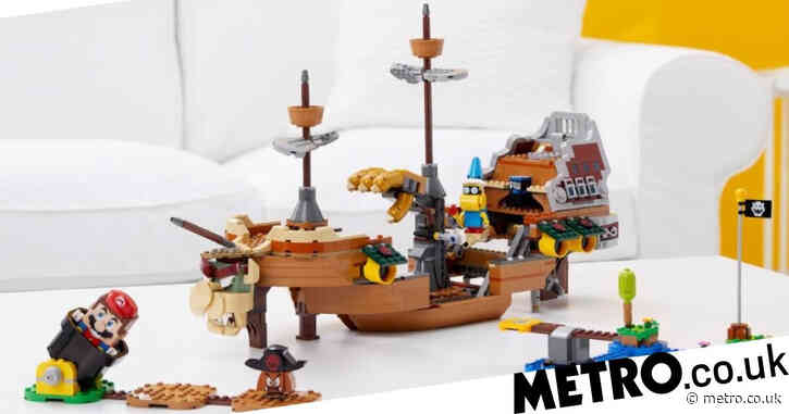 Lego Super Mario Bowser's Airship review – two-player Lego