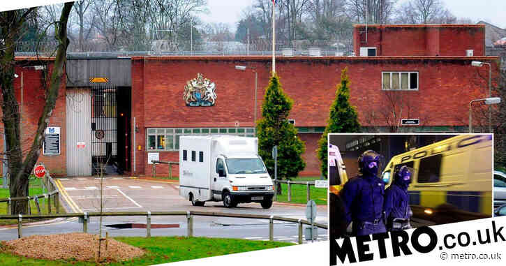 Inmates protested in jail shower area over 'restricted regime' in lockdown