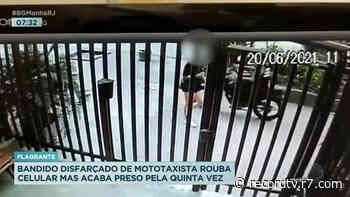 Homem é preso após assaltar pedestre na zona sul do Rio - Record TV