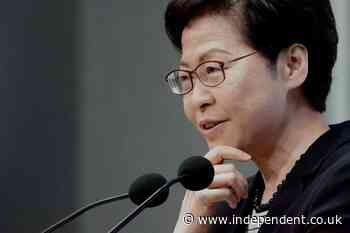 Hong Kong leader says US 'beautifying' Apple Daily acts that endanger national security