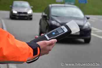 Twee beschonken bestuurders betrapt tijdens alcoholcontrole