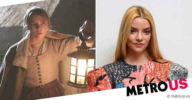 Anya Taylor-Joy thought she'd 'never work again' when she saw her performance in film debut The Witch