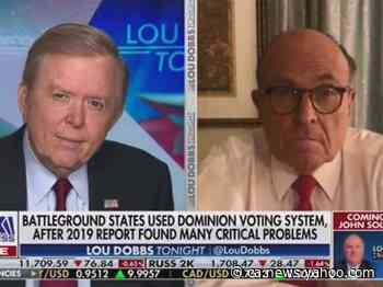 Rudy Giuliani, Sidney Powell, and Fox News have August date confirmed for court bid to dismiss $2.7 billion Smartmatic lawsuit - Yahoo News Canada