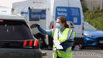 COVID-19: UK reports 11,625 new cases and another 27 coronavirus-related deaths - Sky News