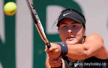 Canadian Bianca Andreescu wins opener at Wimbledon tune-up event