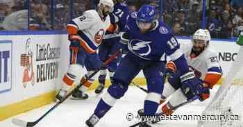 Stamkos, Vasilevskiy pace Lightning's 8-0 rout of Islanders - Estevan Mercury