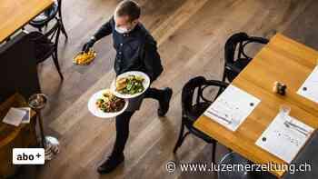 In der Urner Gastronomie herrscht Personalmangel - Luzerner Zeitung