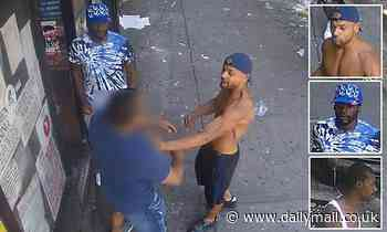 Off-duty cop attacked by three men in the Bronx amid NYC crime wave
