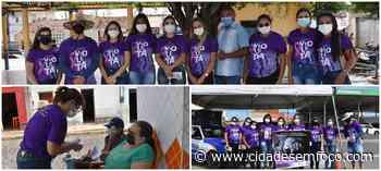 Junho Violeta. Jacobina conscientiza a população sobre a violência contra o idoso - Cidades em Foco