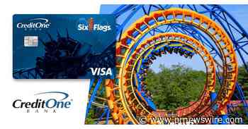 Credit One Bank And Six Flags® Unveil A Brand-New Visa Card