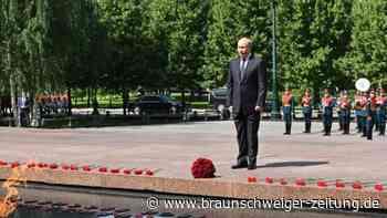Putin wirbt bei Merkel für Zusammenarbeit