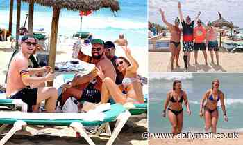 German holidaymakers are packing out Majorca resorts usually over-run with Brits