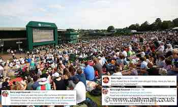 Wimbledon fans are left 'absolutely gutted' as Ticketmaster cancels tickets