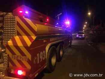 Princípio de incêndio em residência movimenta bombeiros de Schroeder - Jornal do Vale do Itapocu