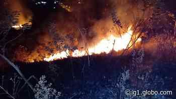 Corpo de Bombeiros combate incêndios em três bairros no domingo em Barbacena - G1