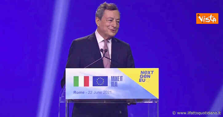 """Ddl Zan, Draghi: """"Vaticano? Domani sarò in Parlamento e risponderò, è una domanda importante"""""""