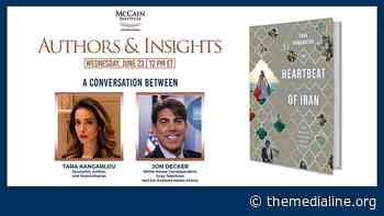 Authors & Insights: Tara Kangarlou and Jon Decker - The Media Line