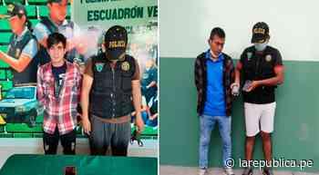 Lambayeque: detienen a dos presuntos ladrones por robar celulares en Chiclayo - LaRepública.pe