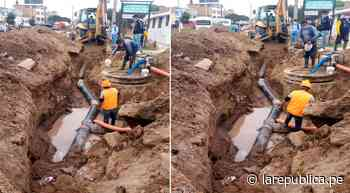 Obra de saneamiento se ejecuta con deficiencias en la provincia de Lambayeque - LaRepública.pe