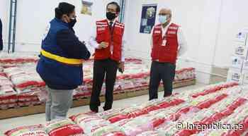 Lambayeque: entregan 5,8 toneladas de alimentos a Municipalidad de Chiclayo LRND - LaRepública.pe