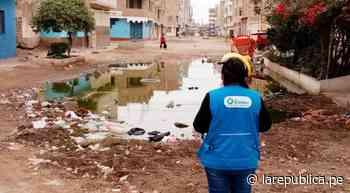 Lambayeque: piden solucionar problema de filtraciones de aguas residuales en JLO - LaRepública.pe