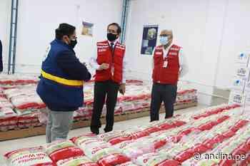 Lambayeque: Qali Warma entrega mas de 5 toneladas de alimentos a municipalidad de Chiclayo - Agencia Andina