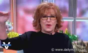 The View's Joy Behar is slammed as homophobic over Carl Nassib NFL joke