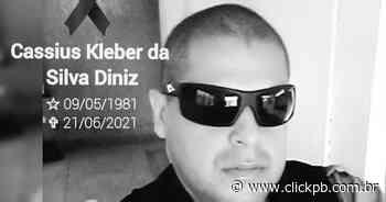 Policial militar que atuava em Alagoa Grande, Cassius Diniz, morre por complicações da covid-19, aos 40 anos - ClickPB