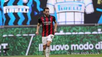 Calhanoglu leaves AC Milan to join Inter on free