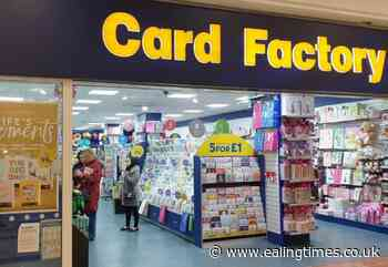 Card Factory to open new shop in Greenford