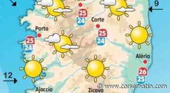 Météo en Corse : quelques gouttes sur le Grand Bastia ce mardi 22 juin - Corse-Matin