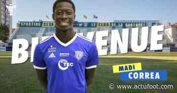 Madi Correa quitte le SC Bastia pour rejoindre le SC Toulon - Actufoot