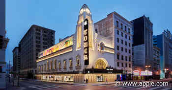 Apple Tower Theatre opens Thursday in downtown Los Angeles