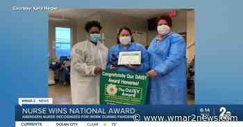 Aberdeen nurse wins Daisy Award for efforts during pandemic - wmar2news.com