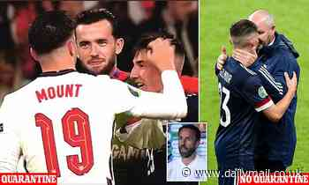 England fans' fury after Mount and Chilwell forced to self-isolate