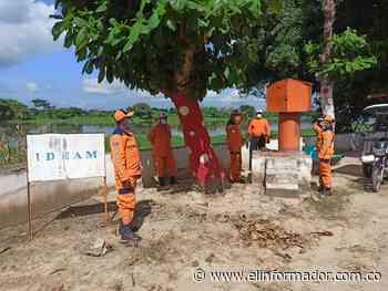 Defensa Civil adelantó jornada de monitoreo del río Magdalena en Santa Ana - El Informador - Santa Marta