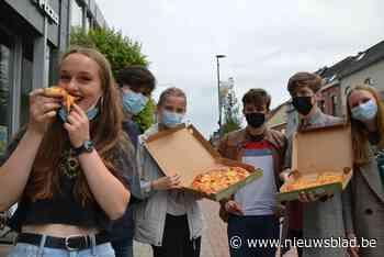 Scholieren kunnen eindelijk einde examens weer vieren in Westmalle op café