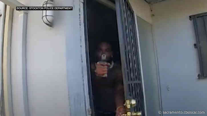 Body Camera Footage Released Of Stockton Police Officer Jimmy Inn's Shooting