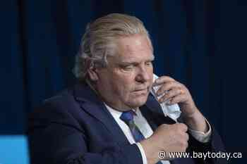 ONTARIO: Man arrested after allegedly making threats outside Doug Ford's home