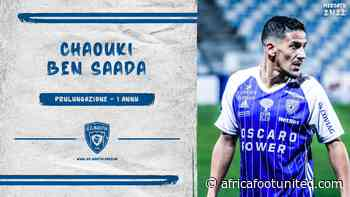 Mercato : Chaouki Ben Saada prolongé par Bastia   Africa Foot United - AFRICA FOOT UNITED