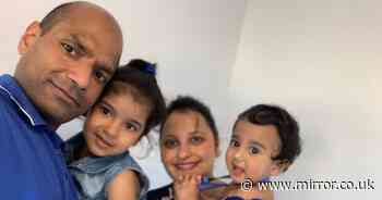 Family slam 'airless' quarantine hotel 'where their children caught stomach bug'
