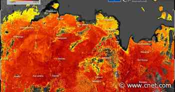Satellites see extreme surface temps as Siberia heats up to 118 degrees     - CNET