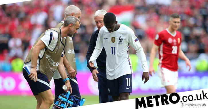 'I will come back even stronger' – France star Ousmane Dembele speaks out after he's ruled out of Euro 2020