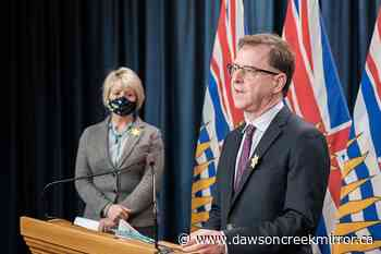 B.C. detects fewest new COVID-19 cases in a day since last August - Dawson Creek Mirror